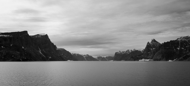 Moody fjord