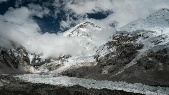 Khumbu Icefall and Glacier